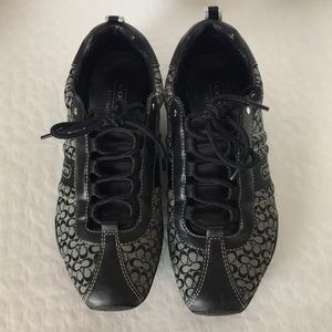 "Coach(#A1187) Kelsie ""C"" Signature Sneakers"